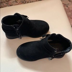 Nine West Toddler Girl Booties Size 7